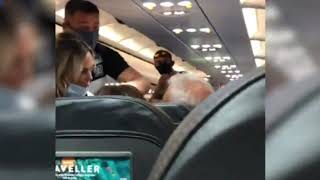EasyJet passenger refuses to w…