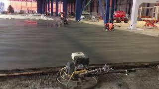 видео Бесшовная технология устройства бетонных полов