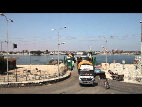 The New Suez Canal Project by Caterpillar Machines