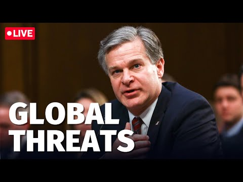LIVE: FBI Dir Wray, DNI Haynes, CIA Dir Burns testify to Senate Intel Committee on worldwide threats