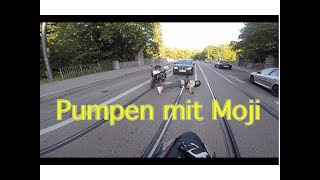 Wenn ich du wäre mit Moji auf dem Bike I Tayo