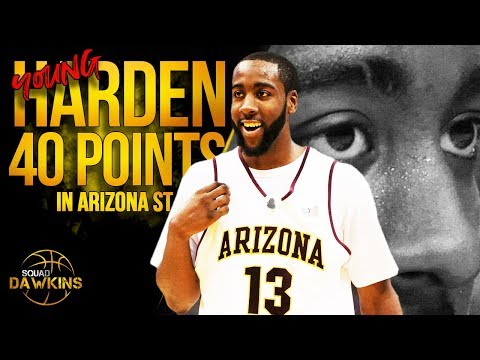 Young Arizona State James Harden Drops 40 Pts On UTEP   Nov 30, 2008   SQUADawkins