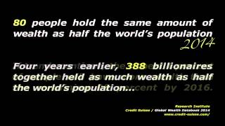 80 People As Rich As Half The World