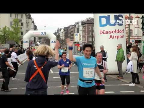 Der Düsseldorf Airport beim METRO GROUP Marathon 2015