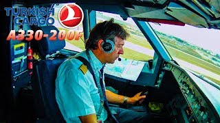 Piloting the TURKISH A330 out of Istanbul
