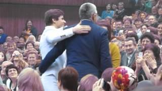 родители Ришата Тухватуллина на концерте 27 ноября 2015 года