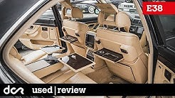 Buying a used BMW 7 series E38 - 1994-2001, Common Issues, Engine types, SK titulky / Magyar felirat