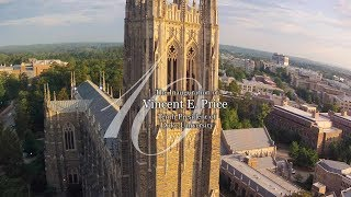 The Inauguration of Vincent E. Price, Tenth President of Duke University thumbnail