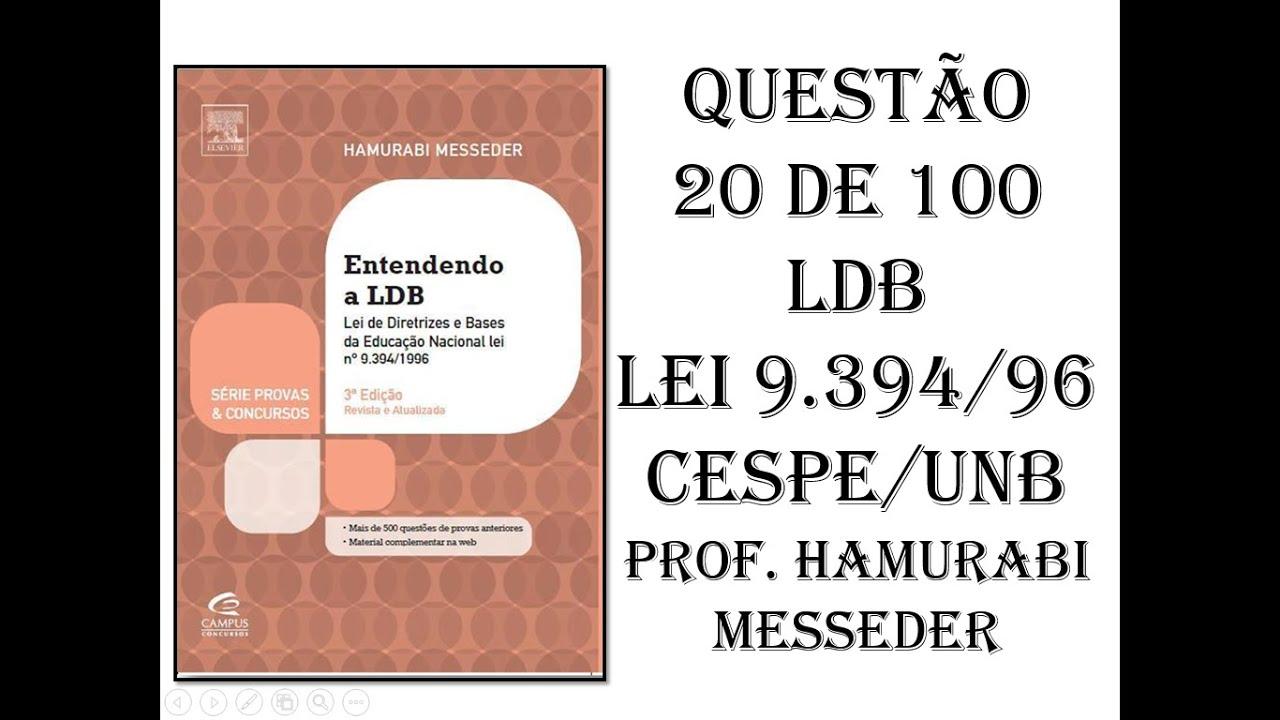ENTENDENDO A LDB PDF DOWNLOAD