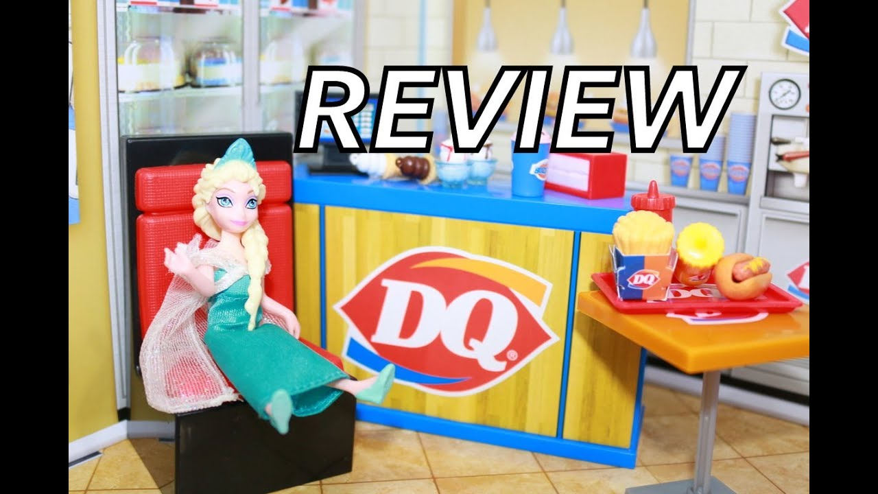 Dairy Queen Toys : Miworld dairy queen dq review mi world playset toy youtube