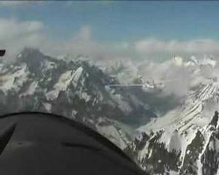Extreme gliding Vinon France Ecrins