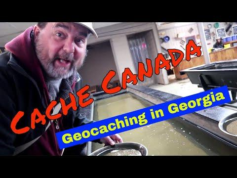 Geocaching In Georgia
