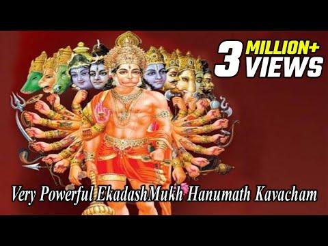 Break Black Magic Spell  - Curses & Hexes | Very Powerful EkadashMukh Hanuman Kavacham