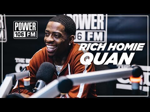"Rich Homie Quan- Explains ""Rich As In Spirit"", His BIGGEST Fear, Hating Social Media & more!"