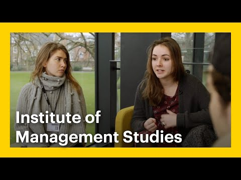 Meet the Students of Goldsmiths - Institute of Management Studies