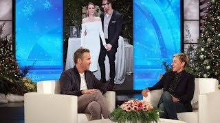 "Ryan Reynolds divulged to Ellen that his two young daughters can't start a day without watching ""Frozen,"" and he has had enough of it. The Hollywood heartthrob also chatted about getting a bad haircut in Abu Dhabi, and spending Thanksgiving with his family there, and the upcoming PG-13 version of his hit R-rated film ""Deadpool 2"" called ""Once Upon a Deadpool"".  #RyanReynolds #OnceUponADeadpool #TheEllenShow"