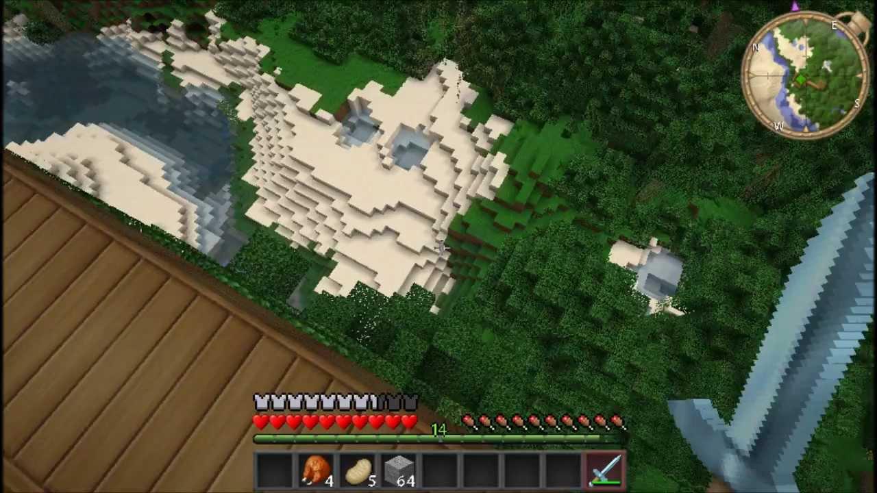 Planeta vegetta mi casita arbol en la selva minecraft pc - Casitas en el arbol ...