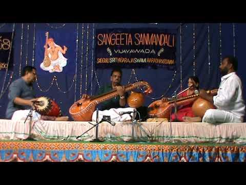 BHAJANAPARULAKELA ON VEENA BY SRI AYYAGARI SATYA PRASAD & SMT A RAJYA LAKSHMI