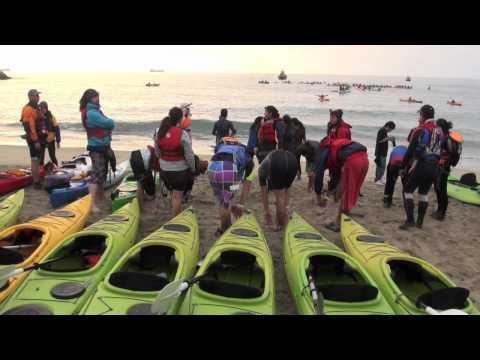Kayak nocturno en Viña del Mar Casa del Deporte Municipalidad