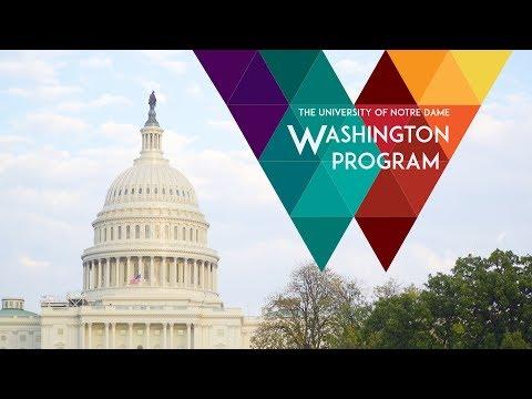 The Notre Dame Washington Program: A Monumental Semester