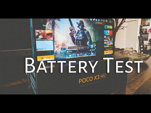 POCO X3 NFC Battery Test! Know About It's Battery!