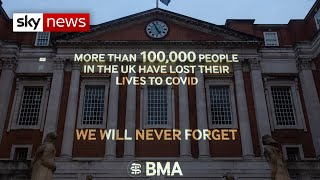 COVID-19: UK deaths exceed 100,000