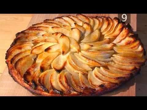 How To Do A Quick And Easy Crispy Apple Tart - YouTube