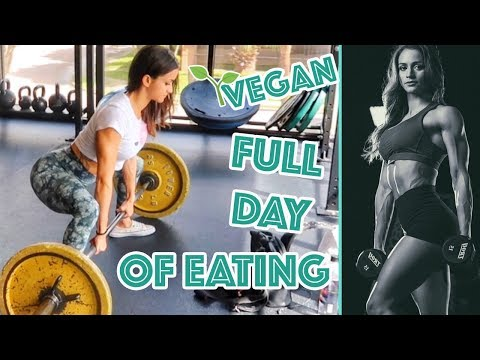 HIGH PROTEIN VEGAN MEAL PREP | FULL DAY OF EATING