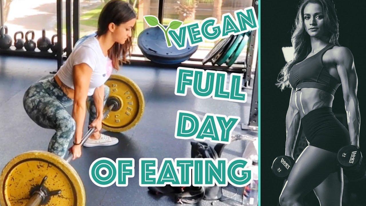 HIGH PROTEIN VEGAN MEAL PREP   FULL DAY OF EATING