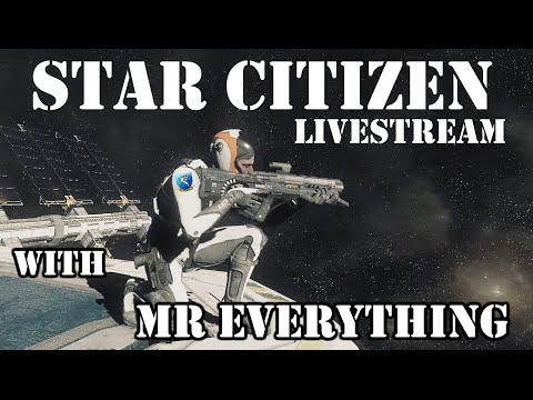 Star Citizen Daily Midnight Live Stream