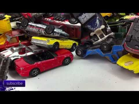 Lot Of Really Old Matchbox Cars
