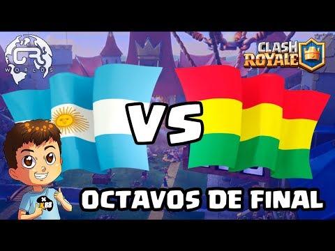 CR WORLDS | ARGENTINA VS BOLIVIA | OCTAVOS DE FINAL!!