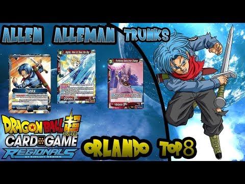 DBS Orlando Regional Top 8 - Red Blue Trunks - Alan Alleman
