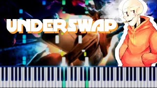 (Underswap AU) || Reanimation || Synthesia Piano Tutorial