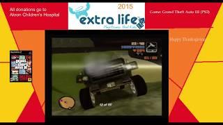 Extra Life 2015: Part 14C - Grand Theft Auto III