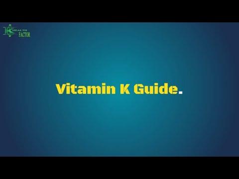 Vitamin K Guide.