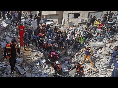 مقتل 26 شخصا في غارات إسرائيلية جديدة على غزة لترتفع حصيلة القتلى إلى 147 على الأقل  - نشر قبل 3 ساعة