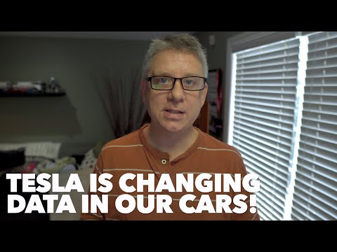 Tesla is changing data in our cars