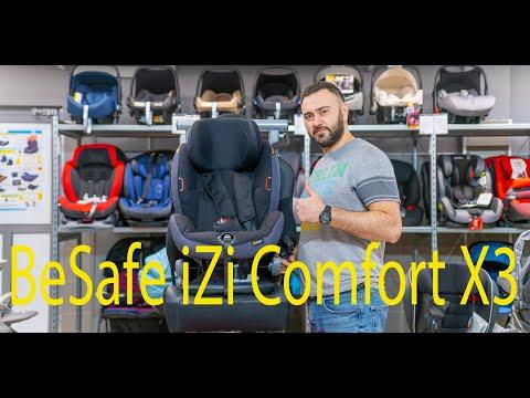 Удобное, просторное, с высокой посадкой и глубоким наклоном BeSafe IZi Comfort X3