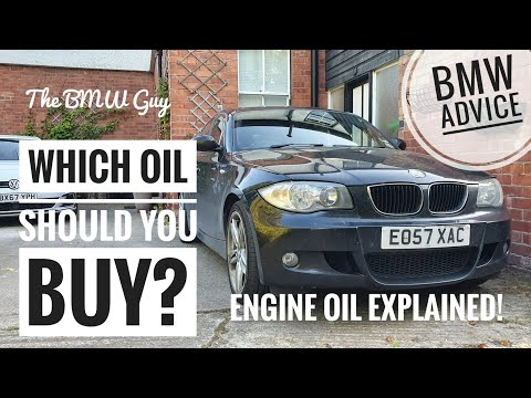 What is *THE BEST OIL FOR YOUR BMW*?? -BMW Oil Buying Guide!
