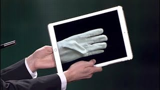 The iPad Glove - A Cardini Tribute [Subtitled]