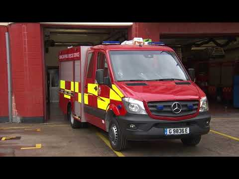 Fire and Rescue new appliances
