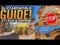 Overwatch: How To ATTACK & DEFEND Blizzardworld!