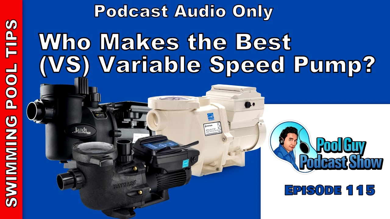 Who Makes the Best (VS) Variable Speed Pool Pump?