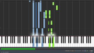 call me maybe piano (synthesia 120% speed) tutorial+midi