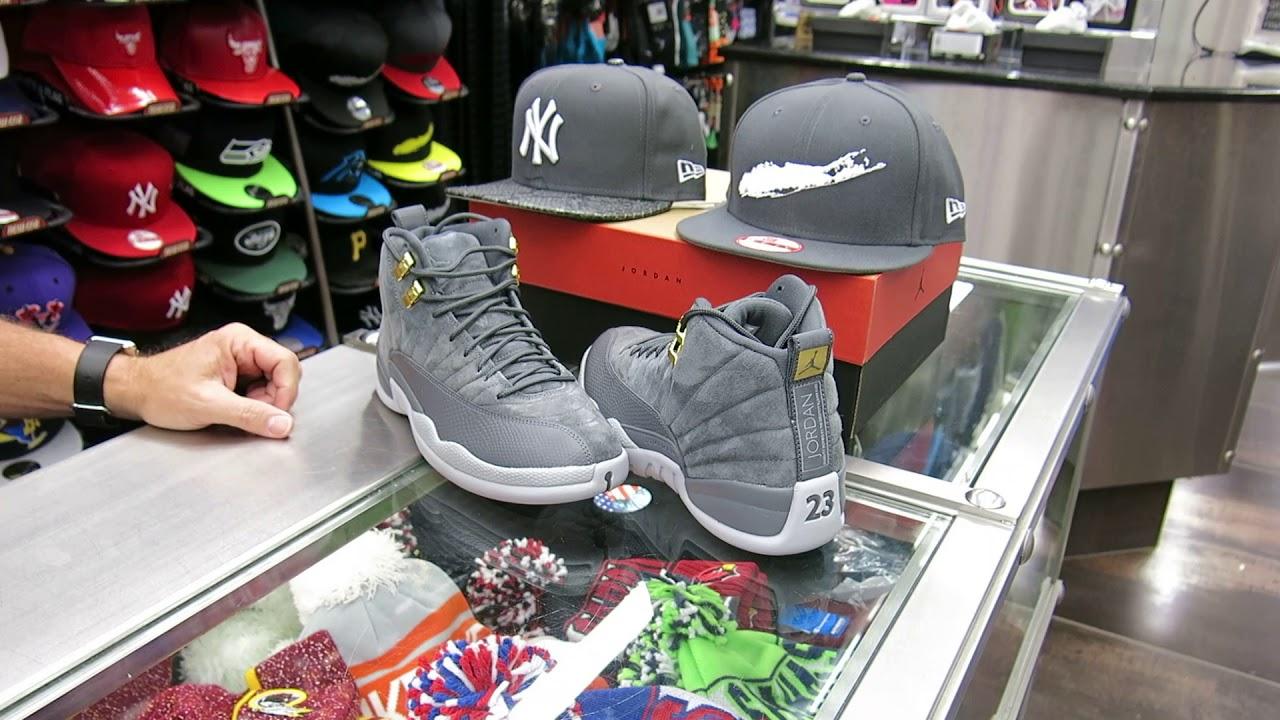 3a46422c57cd Nike Air Jordan 12 Dark Grey Suede s