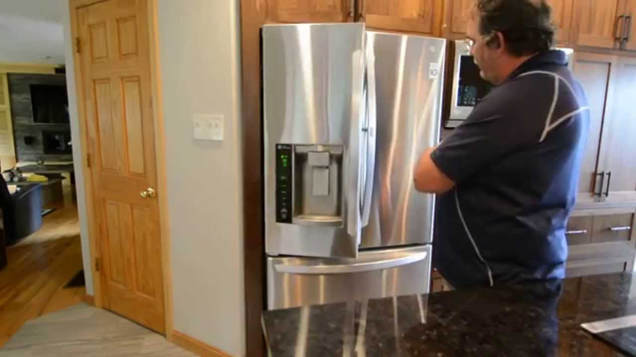 Lg Refrigerator Door Closing Issues August 2015 Youtube