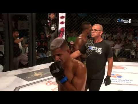 X FORCE MMA 6 - Luta 4 - 11/11/2017 - RICARDO BOMBINHA VS CHARLES LEE