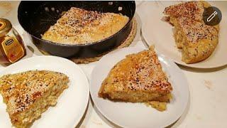 طريقة عمل الخبزه الجنوبيه السعوديه بكل سهوله وياسلام مع السمن البرى والعسل آخرلذاذه