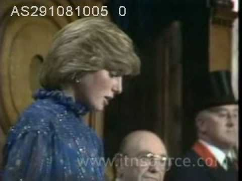 Princess Diana gives speech in Welsh  (Wow!)
